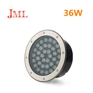 JML 36W Underground LED lighting IP67 waterproof high power brightness 24V safe Christmas lighting 304 stainless steel