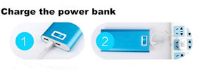 18650 Power Bank 20000mah LCD External Battery Portable Mobile Fast Charger Dual USB Powerbank for iPhone 6 Samsung Tablet