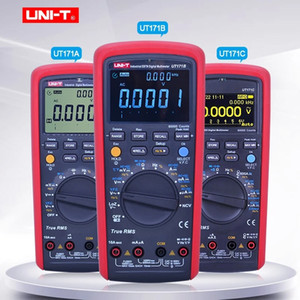 UNI-T UT171A UT171B UT171C industriale True RMS Digital Multimeter Voltmeter Ammeter Ohmmeter Electrical Meter