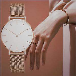 Top Reloj de lujo de mujeres de alta calidad 32 mm moda casual reloj relojes relojes Lady Classic Table