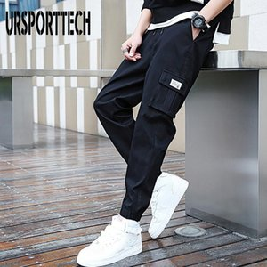 Streetwear Cargo Pants Men's Joggers 2020 New Spring and Autumn Casual Pants Korean Fashion Sports Trousers Loose Harem Pants 1109