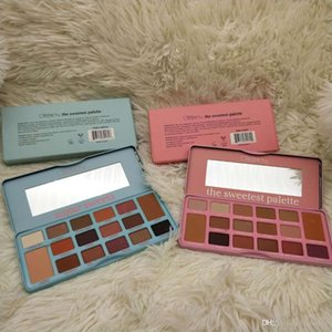 Cosmetics The sweetest palatte sugar sweets 16colors Olivia 16Colors Eye Shadow Palette matte eyeshadow paletes