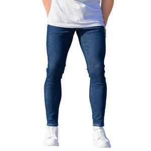 Casual 100% cotone Denim Uomo Basic Indigo Jeans uomo nuovo stile Buon prezzo migliore prezzo all'ingrosso Trend 2021