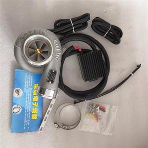 Kit de supercharger elétrico do supercharger impulso A ingestão de filtro de ar do turbocompressor elétrico para todo o carro melhora a velocidade