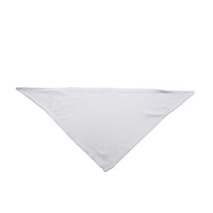 10pcs bandanas sublimation blank white diy polyester pet dog triangle neck scarf heat transfer printing 42Chd