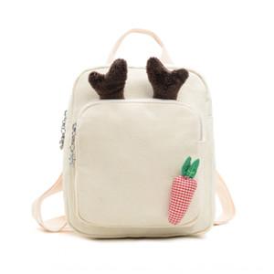 primavera dei bambini coreani e l'estate 2020 nuovo carino corno zaino dei bambini del sacchetto backpackMini zaino moda zainetto per ragazzi e ragazze