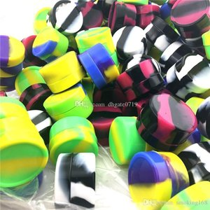 Portable Nonstick wax containers silicone box 3ml colorful silicon container food grade jars Mini dab tool storage jar oil wax box