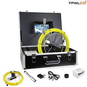 Borehole Well Pipe Camera 12V 4500mAh Battery 23mm Waterproof Lens Pipeline Endoscope Sewer Camera Industrial Inspection
