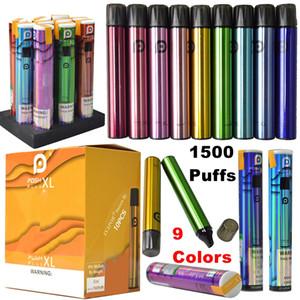 POSH PLUS XL Disposable Vape 1500Puffs E Cigarettes 9 Colors Vapes Pen 5ml 650mah Battery Cartridges Starter Kits Empty Pre-Filled Oil Carts