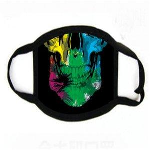 Tricoter en stock coloré Imprimé SCUA Faric anti-poussière Masque Fa Famask gratuit Fedex Sipping # 663