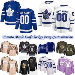 Özelleştirme 2020 Haberler Toronto Maple Leafs Hokey Formaları Birden Çok Stiller Mens Hyman Kapanen Herhangi bir Numarayı Özelleştir Herhangi Bir Adı Hokey Jersey