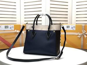 2021Top Quality Classic fashion shoulder bag Double Shoulder Bag Messenger Bag Handbag women's handbag leather production 011