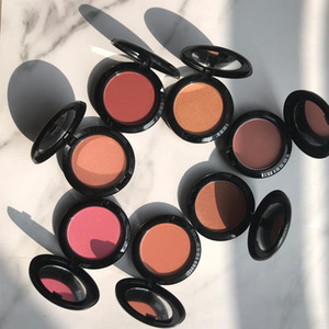 cosmetics R&B colors Highlighter&Bronzer Blusher Powder Makeup Cosmetic Natural Blusher Powder Palette Glitter Shimmer Makeup