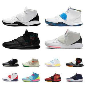 Kyrie 6 homens Sapatos de basquete Bruce Lee Vermelho Oreeo Vast Troféus Cinza Ano Novo Chinês Khepri Cura The Muns Mens Sports Sneakers
