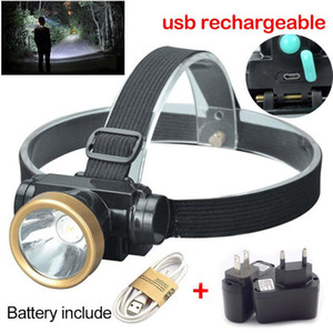 Super bright LED Headlamp Headlight frontal Head Torch Light Lanterna USB Rechargeable for Fishing Camping Hunting
