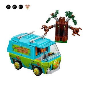 Fit Scooby Doo 75902 Movies The Mystery Machine Mini Figures Bela 10430 Educational toy Building Blocks Toys For Children Gift LJ200928