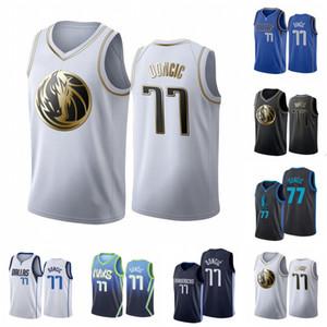 DallasMavericksMen Luka Doncic Basketball Jersey