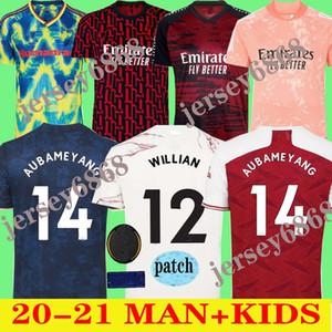 Местные дешевый новый футбольный рубашка 20 21 Pepe Виллиан Арсен трикотажных изделий футбола TOP 2020 2021 HOME AWAY Camiseta мужчина майки Таиланд качество