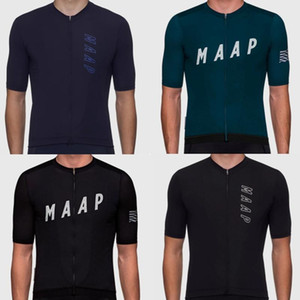 Maap cycling tops 2020 Summer Coolmax bike clothing outdoor cycling sportswear MTB Jersey team short sleeve shirts bicycle wear