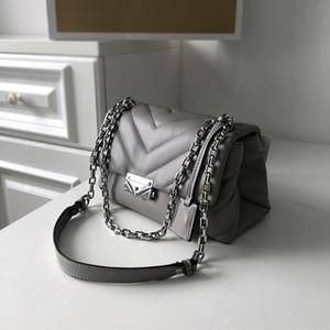 Designer- Yeni cüzdanlar Avrupa ve Amerikan tarzı zincir küçük kare çanta deri moda omuz çantasını handbags