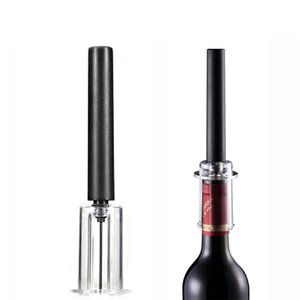 Red Wine Bottle Opener Corkscrew Stainless Steel Pin Type Air Pressure Cork Popper Bottle Pumps Corks Corkscrews Screw Cork Out Tool