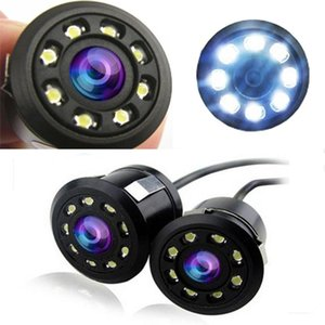 2020 New Hot Sale Car 170 Lens Angle Backup Rear View Reverse Parking 720*480 Pixels 8 Led Color Ccd Night Vision Hd Camera#BL2