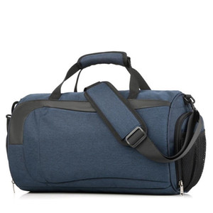 2020 New Men Casual Nylon Sport Travel Bag Design Duffle Bag Waterproof Large Luggage Handbag LJ201114