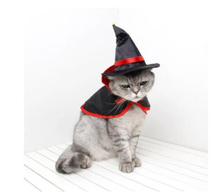 Comfortable Halloween Costumes Shawl Parrot Warm Pet Cape Dog Cat Small Cape Cosplay Clothes Hat Cap Decor Pet Supplies
