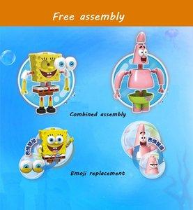 Pineapple House Spongebobs Series Building Blocks Patrick Figuren Assembled Bricks Lernspielzeug für Kinder Mädchen-Geschenk