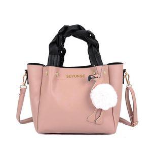 2020 New Women's Bag Elegant Sweet Casual Handbag Fashion PU Leather Handbag Messenger Bag Ladies Shoulder High Quality