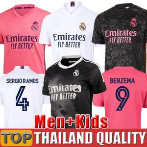 Таиланд Реал Мадрид футбольные майки ОПАСНОСТЬ 2019 2020 SERGIO RAMOS ASENSIO Футболка 19 20 МАРСЕЛО EA Sports Мужчины женщины Детский комплект Camisetas