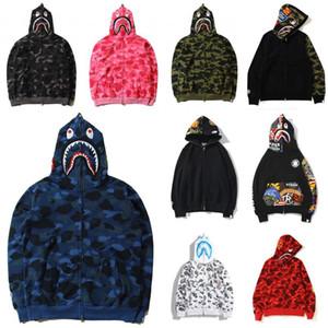 2020 homens macaco um banhobape jaqueta AAPE fundamentos do hoodie casaco de inverno da forma da mulher bape01 camo tubarão-de-rosa camuflagem cardigans co n7XC #