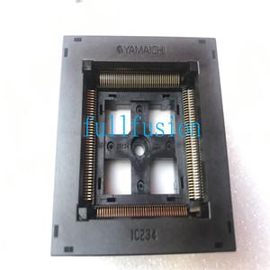 IC234-1604-018 Yamaichi IC Testi Soket QFP160 0.65mm Pitch TQFP160 Soket Yanık