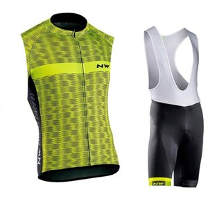 Nw Team Cycling Short Sleeves Jersey Bib Shorts Sets New Arrival Men Breathable Clothing Summer Mtb Bicycle Wear U41510