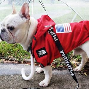 Mode Haustier Hund Regenmantel für Hundekleidung Wasserdichte französische Bulldogge Kleidung für Hund Regenbekleidung Hoodie Atmungsaktive Welpen Haustierkleidung 201023