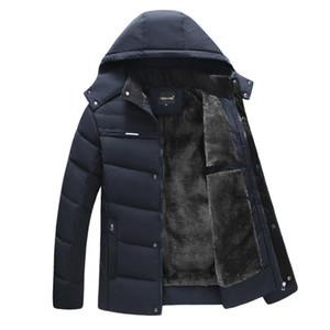 New Parka Men Coats 2020 Winter Jacket Men Thicken Hooded Waterproof Outwear Warm Coat Casual Men's Overcoat Jaqueta Masculina