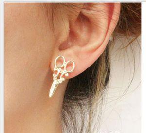 Toptan ps1885 nakliye Kadınlar Bedava damızlık moda Takı küpe Kişilik makas Earrings damızlık Fshears küpe makası