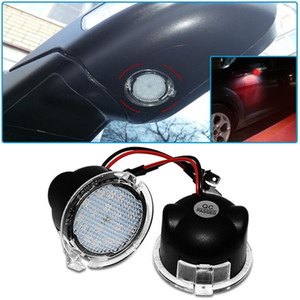 2Pcs LED Under Side Mirror Puddle Light Accessories For Edge 2007 2008 2009 2010 2011 2012 2013 2014 2020 20201