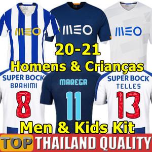 2020 ALEX ANLATTI FC Porto Futbol formaları BRAHIMI SHOYA DANILO futbol forması seti Infantil OTAVIO FELIPE AUGUSTO Erkekler Çocuk Kiti üniforma