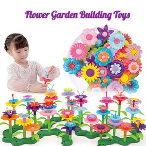 Bambini Flower Garden Building Toy Sts creativo Disposizione dei fiori Creativo Giochi di Artigianato Regali Montessori Playmobil Giocattolo educativo C0119