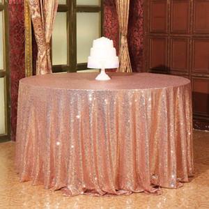 Все Lellen размеры Luxury Блестки Скатерть Свадебные украшения партии Таблица Обложка Slipcovers Скатерти Рождество Свадьбы XQ7D