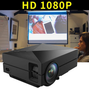 AU Plug Portable Projector Home Gm60 Mini Support Hd 1080P Small Projector Led 30-130 Inch Projection Size