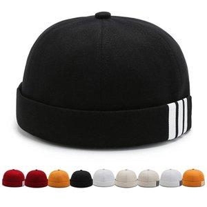 قبعة / جمجمة قبعات الشتاء محبوك قبعة قبعة للنساء الرجال لينة الدافئة الكلاسيكية الرجال القبعات الاكريليك متماسكة صفعة كاب يوميا