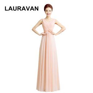 v neck chiffon womens special occasion woman plus size prom long pretty dresses elegant dinner dress women 2020 pink peach gown