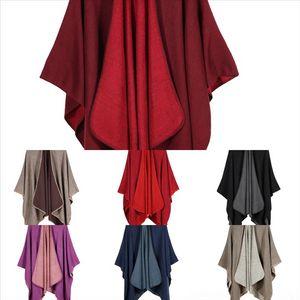 Jau Designer de punto Color Sólido Primavera Invierno Mujeres Bufanda Tela Escocesa Caliente Cashmere e Invierno Bufanda SHL Bufandas Autumn Shaws Cuello Bandana