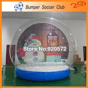 Inflatable Snow Globe For Christmas Decorations,Bubble Photo Booth Dome Tent