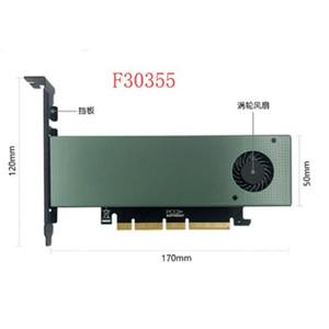 إضافة الرخيصة على بطاقات JEYI SK8-جديد إضافة على بطاقة M.2 NVMe محول إلى PCIE3.0 GEN3 M.3 المدمج في توربو فان ل2230-22110 حجم