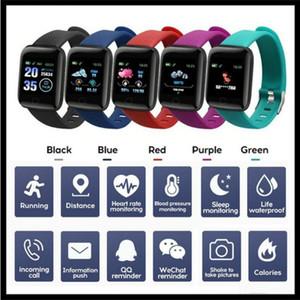Pulsera inteligente vendedor caliente de la ID116 PLUS rastreador de ejercicios con ritmo cardíaco inteligente de la presión arterial Muñequera 116 PLUS F0 de Fitbit MI Banda 116Plus
