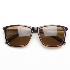 Adam Siyah Kahverengi tonları Anti Erkek Polarize Güneş Gözlüğü Bayan Unisex Kare Güneş Gözlükleri UV400 Yansıtan
