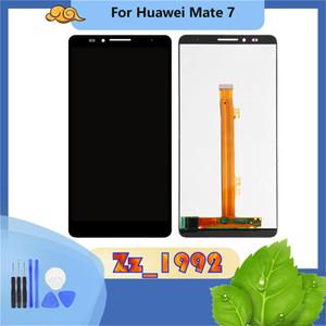 """6.0"""" de haute qualité pour l'assemblage Ascend Maté 7 huawei LCD Écran tactile Digitizer remplacement Noir Blanc"""
